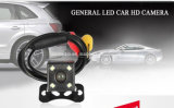 ユニバーサル車の4PCS極度の明るいLEDのバックアップ防水カメラの夜間視界