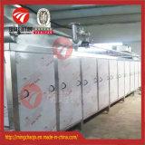 Máquina de secagem espasmódica da correia de vários estágios da carne do ar quente para a venda