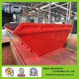 Red Piscina grande barco Shape Skip bins