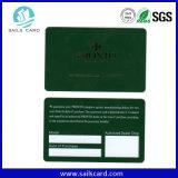 Cartão de fidelidade do cartão de fidelidade do cartão de fidelidade de fábrica