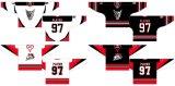 Настраиваемые Онтарио хоккейной лиги Миссисауга Icedogs 1997-2006 годы дома и дороги Хоккей футболках NIKEID