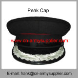卸し売り安い中国の軍隊の濃紺の憲兵は帽子を統率する