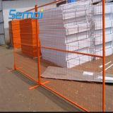 Panneaux portatifs provisoires de frontière de sécurité pour le marché du Canada