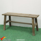 Banco di legno del giardino della presidenza domestica antica unica della mobilia