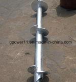 Stapel van het Anker van het Lassen van de Verkoop van de Schroef van de grond de Hete Auto Spiraalvormige
