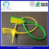A alta temperatura resiste a gerência logística do bracelete plástico de RFID