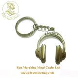 Anéis de prata esterlina personalizado Granel Keychains Nome da liga de zinco