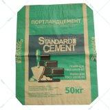 가득 차있는 자동 통제 시멘트 부대 기계장치 (ZT9802S & HD4916BD)
