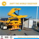 Sinotruk HOWO hydraulischer Aufzug ein Behälter-Kran-LKW der Eingabe-20FT