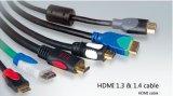 Высокое разрешение 1080P для массовых Quanlity 1,3 &1,4 В кабель HDMI с маркировкой CE сертификации