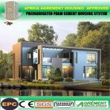 Case prefabbricate dello spogliatoio della spiaggia del contenitore della costruzione di appartamento con solare