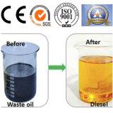 Equipamento de destilação de borracha para o óleo combustível