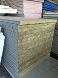 El panel de emparedado de acero del color del EPS/el panel de emparedado de Rockwool