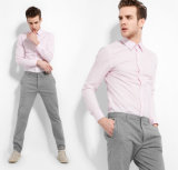 Способ Stylish Made к Measure Men Dress Shirt Long Sleeve Cotton Shirt