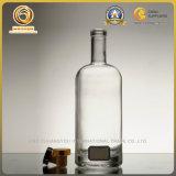 Bouteille blanche élevée de luxe de boisson alcoolisée pour la vodka (1122)