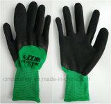 Латекс из пеноматериала труда защитные безопасности рабочие перчатки