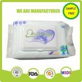 Wipe младенца чистки внимательности кожи пользы младенца ежедневный
