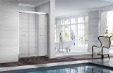Aço inoxidável da base acrílica do chuveiro 900*1200 cerco de vidro do chuveiro da porta de 8 milímetros