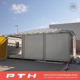 China prefabriceerde het Huis van de Container voor het Leven naar huis met Balkon