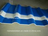 Звукоизоляционные и термально изолированные материалы панели толя PVC 9mm полые Corrugated
