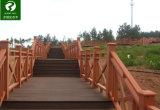 Pasamano Anti-ULTRAVIOLETA impermeable compuesto plástico de madera de WPC/cercado para el parque y el jardín