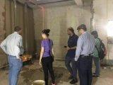 機械を塗る電気壁のレンダリング機械セメントの構築乳鉢