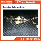 휴대용 Jewellry 조각 기계 섬유 Laser 조판공 20W 30W 50W