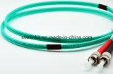Kabel van het Koord van het Flard van de Vezel van de Wijze Om3/Om4 van Sc FC Multimode Optische