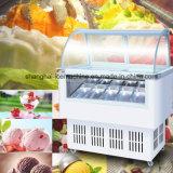 Visor de sorvete/gelados italianos Showcase/Popsicle congelador de exibição