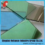 4mm-10mmセリウム及びISOは青銅、灰色、青、緑およびピンク反射ガラスを証明する