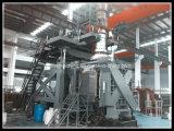 機械(FSC120)を作るプラスチックパレット
