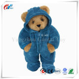 Dentellare 15 pollici/giocattolo dell'orso dell'orsacchiotto orso pigiama/dell'azzurro