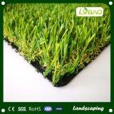 Het goedkope Groene Gras van het Tapijt van de Kleur Chinese Decoratieve Kunstmatige