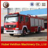 6 wielen 8 Ton 2000 van HOWO Gallons van de Vrachtwagen van de Brandbestrijding