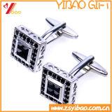 Forme carrée Cufflink pour cadeau promotionnel (YB-cUL-10)