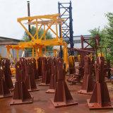 Turmkran-Basis-Festlegung-Winkel/Metallrahmen reparierten das Bein/Wellen, die in China hergestellt wurden