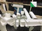 Matériau de construction en plastique de descente de drain de l'eau de pluie d'ajustage de précision de pipe de PVC