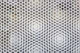 Perforiertes Metallmikroblatt
