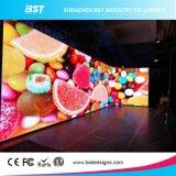 Curvas interiores HD Display de LED de color para el centro comercial