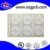 Enig-opgeruimde LEIDENE van de Raad van LEIDENE PCB van het Aluminium PCB met Wit Masker