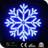 Licht van de Sneeuwvlok van het LEIDENE het Vrolijke Motief van Kerstmis