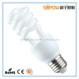 Lâmpada de economia de energia da série Half Spiral da iluminação CFL da iluminação LC Tri Color