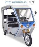 電気3つの車輪車か電気人力車