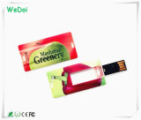 Mini lecteur flash USB de carte avec le logo polychrome d'impression (WY-C09)