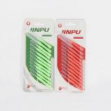 Pack de 12 palillos de plástico nuevo tipo de cepillo de dientes con Alemania y el cable de nylon de DuPont