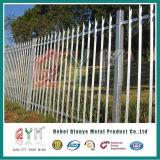 Высокое качество оцинкованной стали с покрытием из ПВХ Palisade ограждения