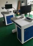 Máquina em linha de voo da marcação do laser da fibra para a tubulação do PVC & do PPR
