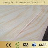 Pine visage et le dos BB/CC de contreplaqué de peuplier de grade de base