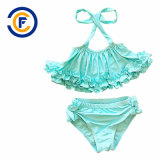 새로운 디자인 소녀 비키니 고정되는 수영복 수영복