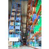 Alta espacio utilizado de almacenamiento en rack de acero Pallet Vna